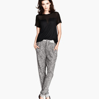 H&M - Sweatpants - Gray - Ladies