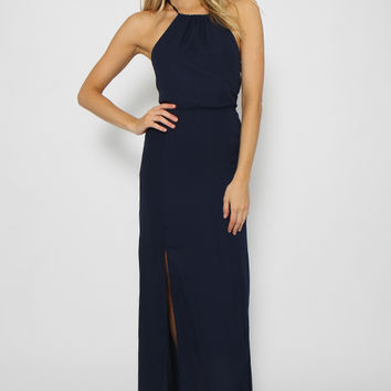 Beauty Queen Dress - Navy