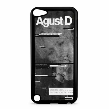 Agust D Case Bts V2 iPod Touch 5 Case