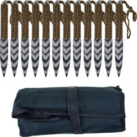 Whetstone Cutlery  Stripeger Kunai 12 Throwing knives Set