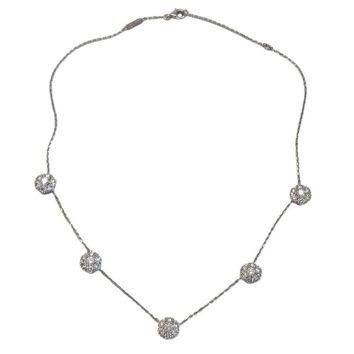 Van Cleef & Arpels Large Fleurette Diamond Necklace