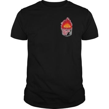 Personal fire demon Calcifer shirt Guys Tee