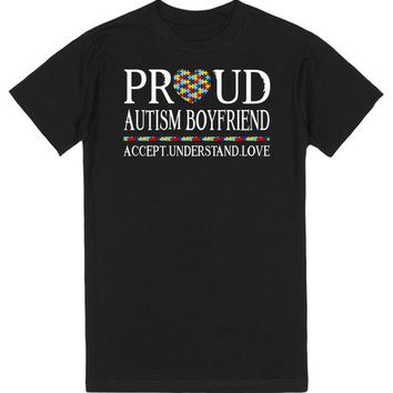 Proud Autism Boyfriend Autism Awareness