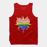 WE 'RE (WITH) THE QUEER! Tank Top By Gasponce Design By Humans