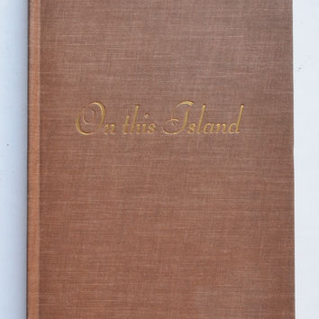 On this Island by W.H. Auden
