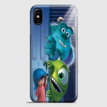Monster Inc Disney iPhone X Case