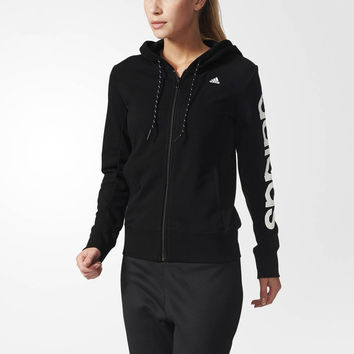 """Adidas"" Women Hooded Zipper Cardigan Jacket Coat"