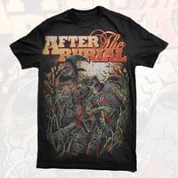 After the Burial - Skeleton Crow Shirt