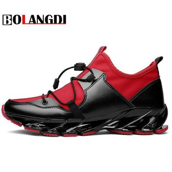 Bolangdi Super Cool Breathable Running Shoes Men Sneakers Bounce Autumn Outdoor Sport Shoes Professional Brand Training Shoes