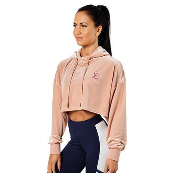 Better Bodies Chrystie cropped hood