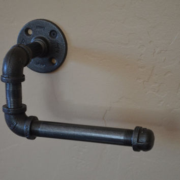 Industrial Toilet Paper Holder - Wall Hanging