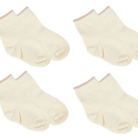 Cotton Socks - Beige Brown