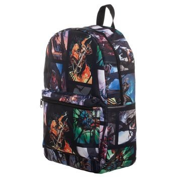 MPBP Venom All Over Print Backpack For School