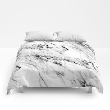 Classic Marble Comforters by followmeinstead