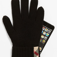 Burberry Touch Screen Cashmere Gloves | Nordstrom