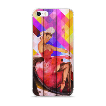 Sassy Little Pinup iPhone 5/5s/Se, 6/6s, 6/6s Plus Case