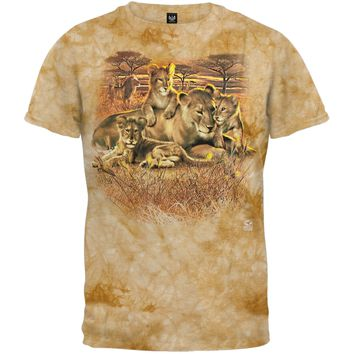 Lion Family - Youth T-Shirt - Youth Large