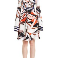 Emilio Pucci Mountain Print Stretch Cady Dress | Nordstrom