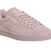 Puma Suede Classic Lilac Snow Emboss - Unisex Sports