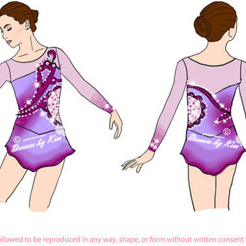 Custom Figure Skating Dress