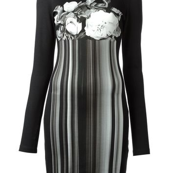 Christopher Kane holographic print jersey dress