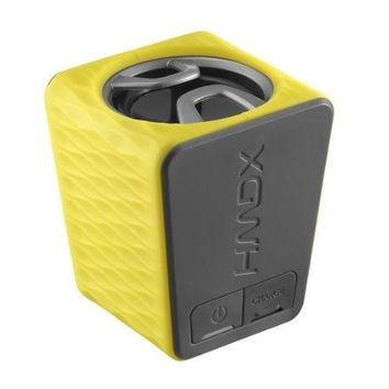 HMDX Burst Portable Rechargeable Speaker, HX-P130YL (Yellow)