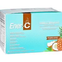 Ener-C - Pineapple Coconut - 1000 mg - 30 Packets