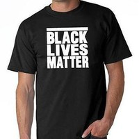 Mens Printed T Shirt Tamir Michael Black lives Matters Eric Trayuon Rodney