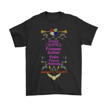 ICIKON7 Stone Chamber Prisoner Goblet Order Prince Hallows Harry Potter Shirts