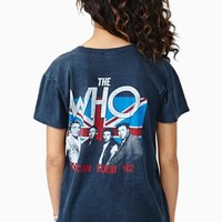 The Who '82 American Tour Tee