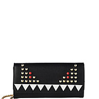 Fendi - Monster Leather Chain Wallet - Saks Fifth Avenue Mobile
