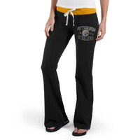 47 Brand Pittsburgh Steelers Ladies Power Stretch Pants - Black