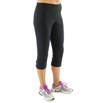 Ryka Womens Flare Back Relaxed Fit Workout Pants
