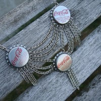 Bottle Cap Necklace Confessions of a Teenage Drama Queen, Replica of Lindsay Lohan's Lola