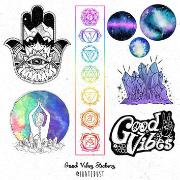 Good Vibez Stickerz Pack