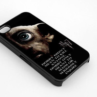 Harry Potter And The Deathly Hallows Dobby for iphone 4/4s case, iphone 5/5s/5c case, samsung s3/s4 case cover