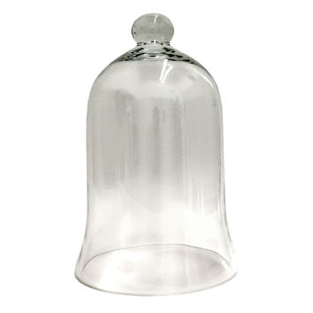 Ashland® Glass Bell Dome