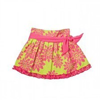 Trish Scully Child - Trish Scully Child Azalea Tie Waist Skirt - Designer Baby Clothes|LollipopMoon.com only $42.00 - New Items