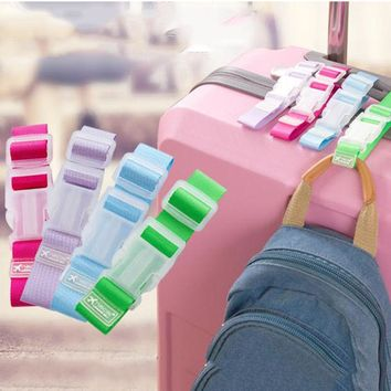 Adjustable Strap for Baggage for hands free Travel -Ease to Hang Accessories -Fixed Clip  Adjustable Fastener -A must have