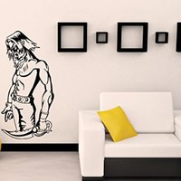 Wall Decals Warrior Horror Ninja Decal Vinyl Sticker Home Decor Bedroom Interior Window Decals Living Room Art Murals Chu1410