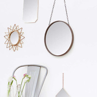 Large Rust Brown Mirror - Urban Outfitters