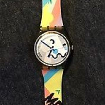 Rare Vintage 1990 Swatch COSMESIS GM103 (ALESSANDRO MENDINI) Excellent Condition