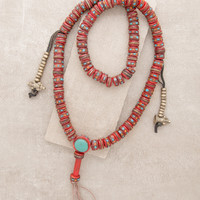 Traditional Red Tibetan Healing Mala