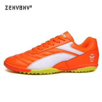 Zenvbnv Men's football shoes sneakers indoor turf superfly futsal 2017 original football boots ankle high soccer boots cleats