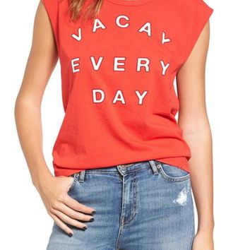 Sundry Vacay Muscle Tee (Nordstrom Exclusive) | Nordstrom