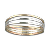 Four Strand Ring - Mix Metals
