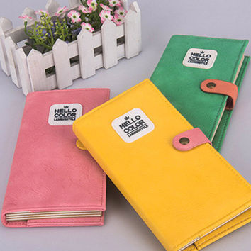 Cupshe Light Grid Colorful Notebook