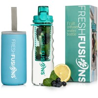 Fresh Fusions 25 oz Fruit Infuser Water Bottle