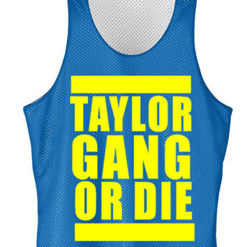 Talor Gang or die mesh jersey