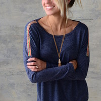 Simple Life Top - Blue